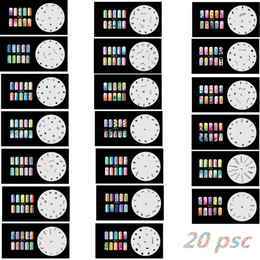 Wholesale 2016 New Fashion Airbrush Nail Stencils Set Tools Diy Airbrushing x Template Sheet for Airbrush Kit Nail Art Paint