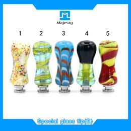 Wholesale ecig glass drip tips 510,featured special drip tip fit all atomizers Free shipping,unique drip tips