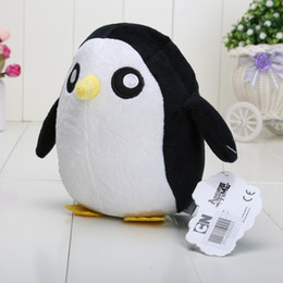 Wholesale 10pcs quot cm Adventure Time Penguin Plush Toys Soft Stuffed Animal Dolls Baby Toys Classic Toys Hot Sale