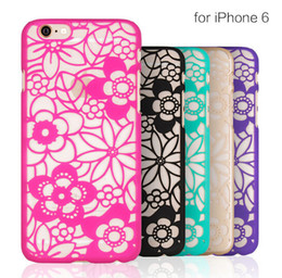 Back Cover for Iphone 5 5s 6 6s 6 6s plus 5.5 inch case Vintage Flower Pattern Luxury Hard PC