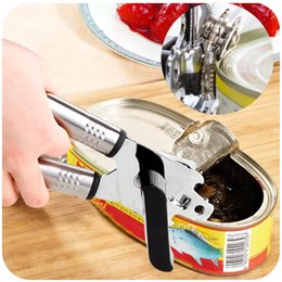 Wholesale the best quality kitchen tool stainless steel useful Multifunction can openers Milk fruit cans Canned openers