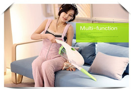 Wholesale Ultra Quiet Mini Home Rod Handheld Vacuum Cleaner Portable Dust Collector Home Aspirator White Green Color D PUPPYOO