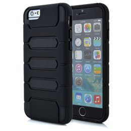 Wholesale Armour plate Shock Proof Hybrid Heavy Duty Armor Case Combo Cover for iPhone G Plus iPhone6