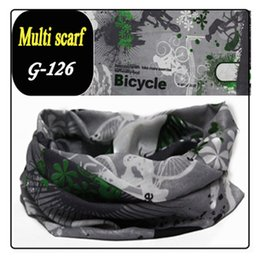 Wholesale-NEW Bicycle Scarf bandanas washouts seamless ride Mask Turban magic scarf for men women sunscreen muffler Veil Headband 150style
