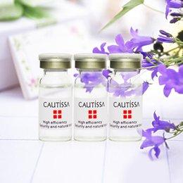 Wholesale CAUTISSA placenta extract essential oil moisturizing cream anti aging algae brightening skin improve skin firmness Fa206
