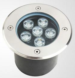 Wholesale piece led underground flood light w IP65 AC85 V ground lights outdoor garden light RGB led pavement lamp