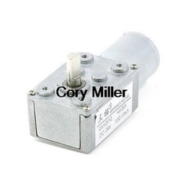 Wholesale DC V RPM High Torque mmx13mm Shaft Electric Power Turbo Worm Geared Motor order lt no track