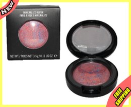 Wholesale Beauty Women CORALista Blush Brightening Face Powder Baked Mineral Blusher CB5 Love Joy Full Size Kit