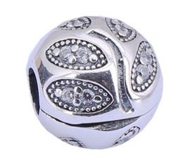 100% Sterling Silver Charms 925 Ale Rhinestone Tree Charms for Pandora Bracelets DIY European Fixed Beads Accessories