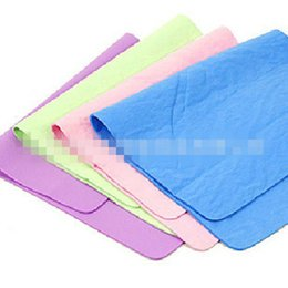 Wholesale Large paperback buckskin towel Super absorbent pads Pet daily pay towel mixed batch The dog daily bath products B99