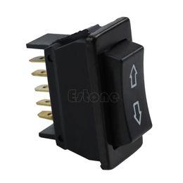 Wholesale Universal DC V A Auto Car Power Window Switch pin ON OFF SPST Rocker Black order lt no track