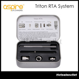 Original Aspire Triton RTA System Triton Tank Coil 0.3ohm 0.4ohm 1.8ohm For Aspire Triton Tank Stock Now!