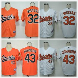 Wholesale Hot Sale markakis Jersey Orange Baltimore Orioles wieters johnson Baseball Jersey White Black Top Quality