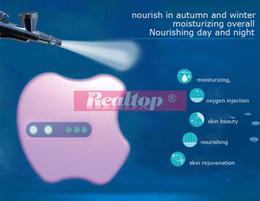 Wholesale Mini Portable Oxygen Jet Peel Oxygen Injection acne removal skin rejuvenation home use oxygen facial machine