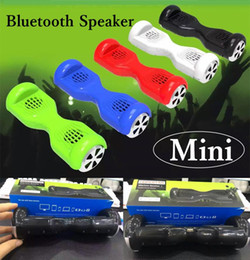 Wholesale New Balance Car Skateboard Scooter Model Mini Protable Wireless Bluetooth Speaker Drifting Board Balance Skateboard Support TF Card U disk