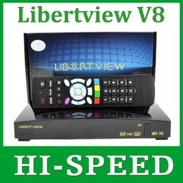 Wholesale Libertview v8 as openbox v8s s v8 Satellite Receiver support xUSB Slot Wifi WEB TV Cccamd Newcamd YouPorn Biss Key