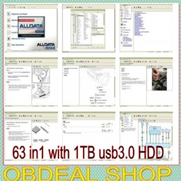 Wholesale 63 in fit win7 win8 Alldata gb Mitchell Q2 med heavy truck manager tecdoc elsa atris with TB usb HDD