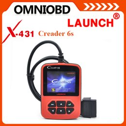 Wholesale DHL Free New Arrival OBD2 Auto Scanner Original Launch X431 Creader VI Plus Code Reader Update On Official Website Creader S Launch