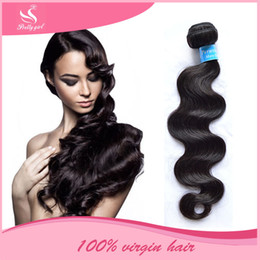 100% Human Hair Weaves Brazilian Body Wave Virgin Hair Bundles Unprocessed Peruvian Malaysian Indian Cambodian Remy Hair Extensions Can Dye