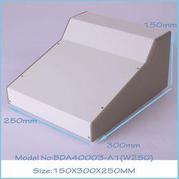 electronics iron enclosure amplifier junction housing (1pcs) 150x300x250mm aluminum enclosure for electronics control box, switch box