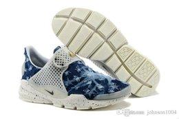 Wholesale 2015 fragment design x NIKE Sock Dart SP Lode men and women running Shoes Original quality sport shoes nike trainer shoes