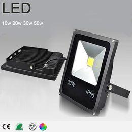 IP65 RGB LED Flood Light 10W 20W 30W 50W Foco LED Exterior Spotlight LED Outdoor Light Reflector Spot Floodlight Remote Control