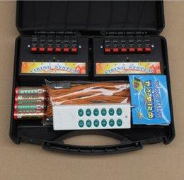 Control remoto 315 en Línea-Fuego artificial de los nuevos productos que enciende el sistema Interruptor sin hilos creativo Radio casera del fuego teledirigido + 12 Cues 315-433HZ Wedding Stage Equipment