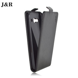 Wholesale-J&R Brand Leather Case For Alcatel One Touch Pop C9 Flip Cover for Alcatel 7047 7047D Case 9 Colors in Stock