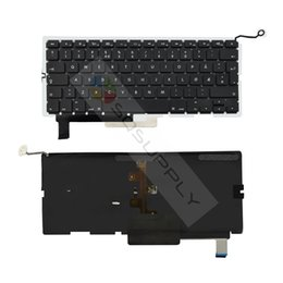 Wholesale Norwegian Keyboard with Backlit For Apple Macbook Pro quot inch A1286 Norwegian Keyboard Year Laptop Replacement Parts