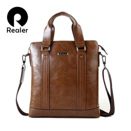 2015 Man Leather Briefcase Wholesale Fashion men's handbag Casual Men Messenger Bag Shoulder Laptop Business Bag Free shipping