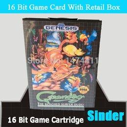 Wholesale-Green Dog Game Cartridge 16 bit MD Game Card For Sega Megadrive