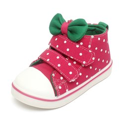 New brand spring autumn Bowknot children shoes girls shoes princess girls canvas shoes breathable kids fashion sneakers