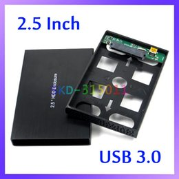 Wholesale USB High Speed Hard Disk Driver External Enclosure Box Support quot SATA HDD up to TB