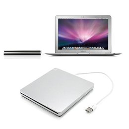 Wholesale Universal USB External CD DVD Rom RW Player Burner Drive for MacBook Air Pro For iMac For Mac Win8 For Dell For Sony For HP
