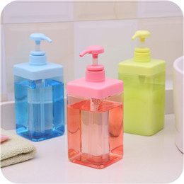 Wholesale 2pcs Kitchen ml PP hand sanitizer bottle Bathroom supplie Gel Shampoo Latex bottle Pump head pressure mouth Plastic lotion Soap Dispenser
