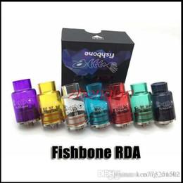Fishbone RDA 22mm 2x Clear Glass Tube vs fishbone temple ax1 xs v3 atomizer For incubus tubgoat v2 Box Mods mod kit kits