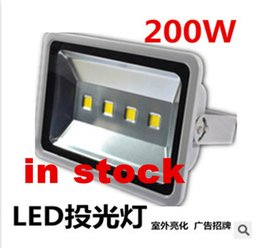 Wholesale Outdoor led floodlight W w w LED flood light Waterproof wash flood V street lamp Tunnel lights High brightness Energy savin