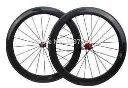 bike carbon wheelset road bikes 60mm 25mm width OEM carbon clincher wheels for road bicycle novatec hubs 271 372 carbon rims