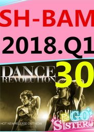 on Top-sale 2018.1 January Q1 New Routine SH BAM 30 Aerobics Exercise Fitness Videos BAM30 SH30 Video DVD + Music CD