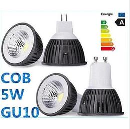 nouvelle vente COB 5W GU10 E27 ampoules LED E26 E14 MR16 420LM Dimmable LED Plafonniers chaud / froid Blanc 12V 110-240V CEROHS à partir de mr16 blanc chaud torchis 5w fournisseurs