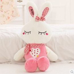 Wholesale Hot Sale Plush Toys Bowknot Little Rabbit Stuffed Animals Birthday Gifts For Stuffed Toys Many Colors To Choose CM K276