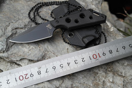 201506 new colt Neck knife fixed blade fine edge hunting knife small camping hiking knives Camping Tactical Tools B171L