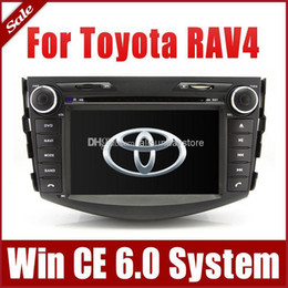 Wholesale 2 Din Head Unit Car DVD Player GPS Navigation for Toyota RAV4 with Radio Bluetooth TV USB SD AUX MP3 Audio Video Stereo