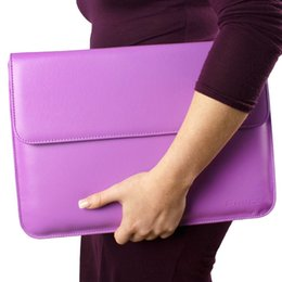 Wholesale Surface Pro Case Leather Sleeve with Lifetime Guarantee Purple for Microsoft Surface Pro