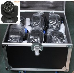 Wholesale 6pcs With Flight Case for beam led moving head w Stage Light Moving Head LED Beam Light x W