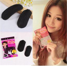 Wholesale New Volume Hair Base Bump Sponge Styling Insert Up Princess Petit Pin Clip Tool Makeup DIY Increase Fleeciness