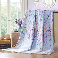 Wholesale Bed Linen A Sea Flowers Fragrant Spin Silk Thin Day Cooler Air Conditioning Summer Children s Quilt Is Generation Fat