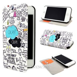Wholesale Art Flip New OKEY E63 Leather Stand Case Cover Skin For Apple iPhone S