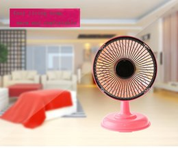 Wholesale Mini solar heating Heater home office desktop little sun heater rapid warming of three colors inch