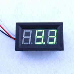 Green Led Display DC 0-99.9V Digital Volt Meter Voltage Panel DC 0-30V Power Supply Voltmeter
